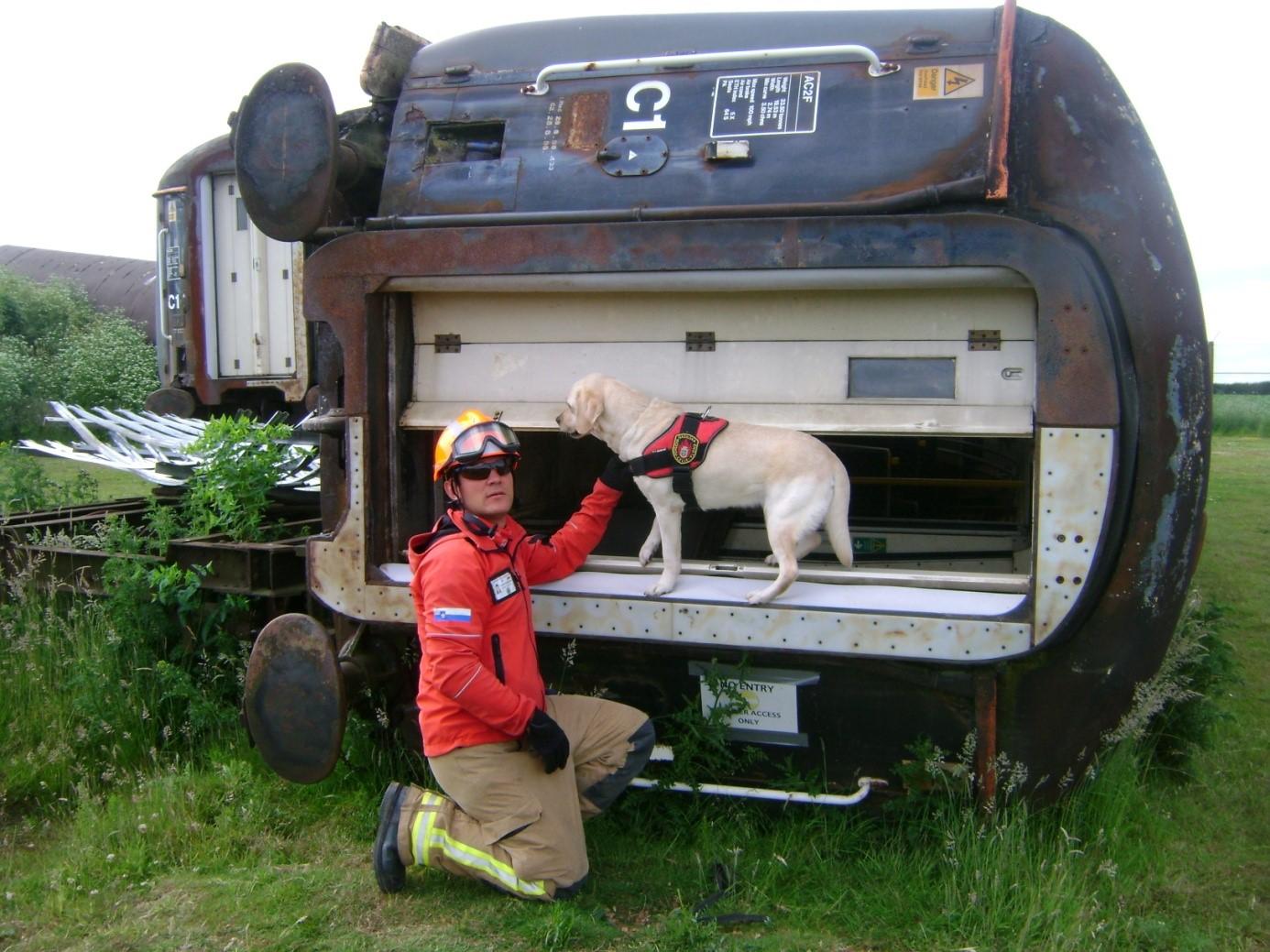 Gasilsko reševalni pes